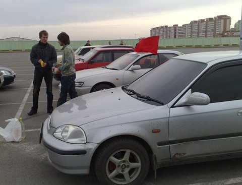 Тонировка Honda Civic