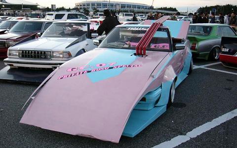 Автомобили Bosozoku Grachan