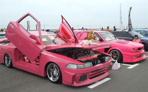 Машина Bosozoku VIP style