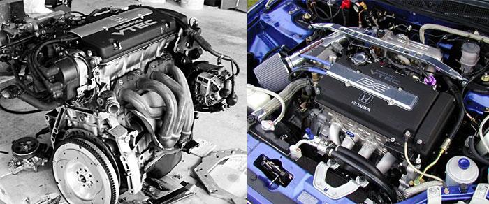 Двигатель Honda B16A для тюнинга