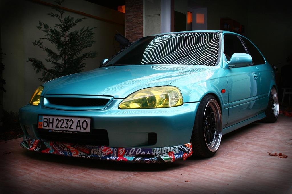 Хонда цивик 6 фото