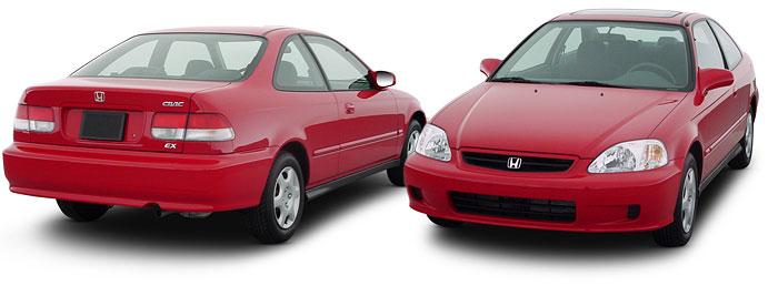 Honda Civic 1996-2000 г.в. — обзор шестого поколения