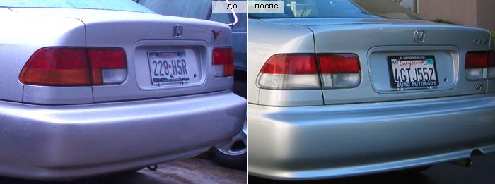 Honda Civic 6 задние фонари