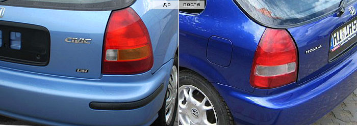 Задние фонари Honda Civic 6 Hatchback