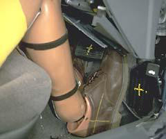 Honda Civic 6 Crash Tests Foot
