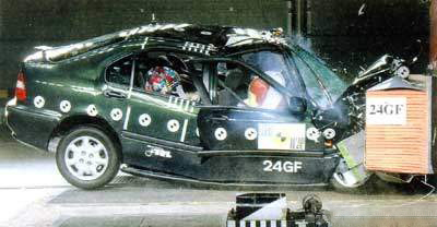 Honda Civic 6 Crash Test