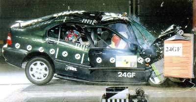 Honda Civic краш-тест
