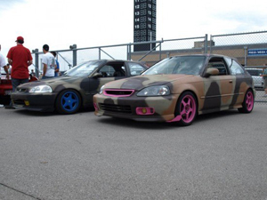 Honda Civic JDM army
