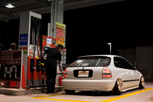 Honda Civic Low Stance HellaFlus