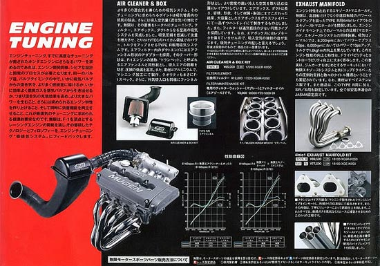 Tuning Catalog Mugen: Honda Civic EK
