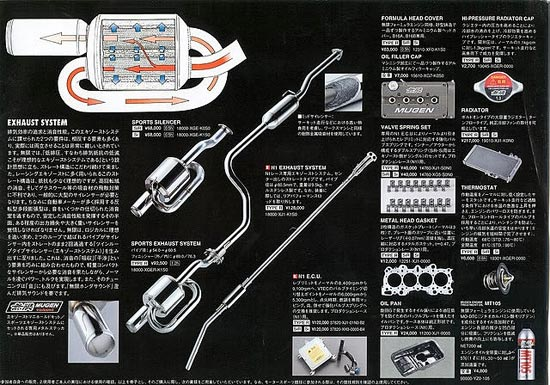 Mugen Catalog: Honda Civic EK