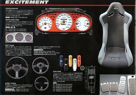 Catalog Mugen: Honda Civic EK9