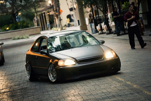 Civic Hella Flush