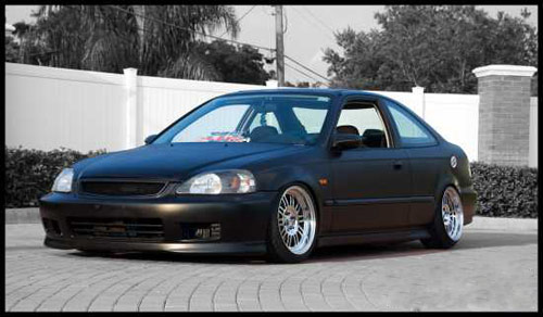 Honda Civic HellaFlush