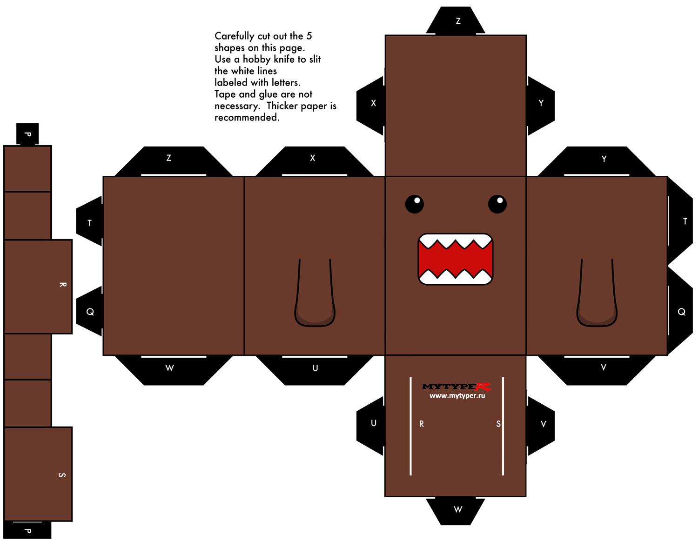 Domo-Kun - культовый персонаж Японии. Все, что Вы хотели знать о Домокуне. Domo Kun своими руками - Honda Civic VI Type-R EK9