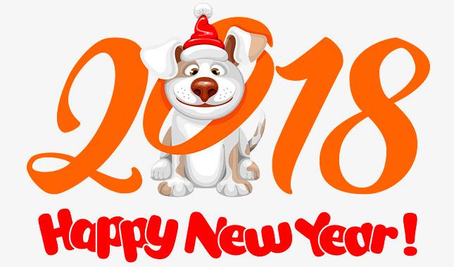 Happy New 2018 Year