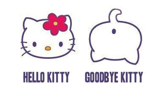 Hello Kitty & Goodbuy Kitty