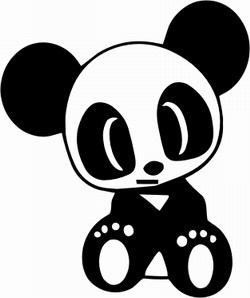 Panda Sricker