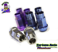 fortune auto titanium wheel nuts