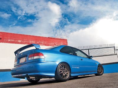 Honda Civic Si Coupe 1999 JDM Mugen Rear Wing