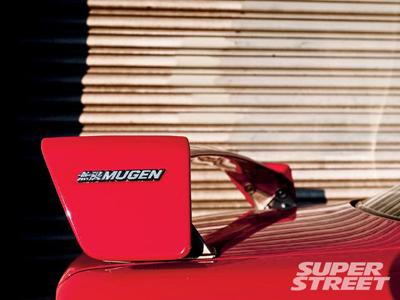 Honda Civic Si Coupe 2000 Mugen Spoiler