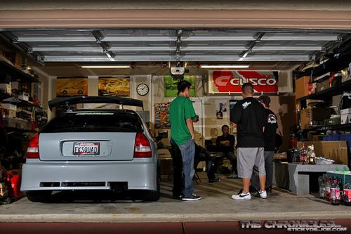 JDM гараж