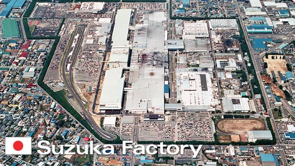 Suzuka Honda Factory in Japan