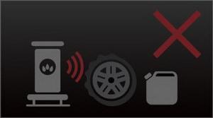 Не храните автомобильные шины рядом с источниками тепла и горючими веществами