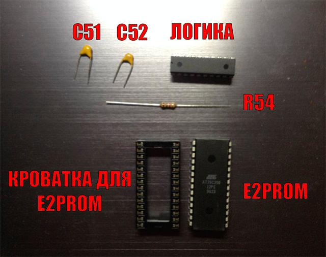 Небходимые компоненты для чиповки ECU Honda 37820-p28