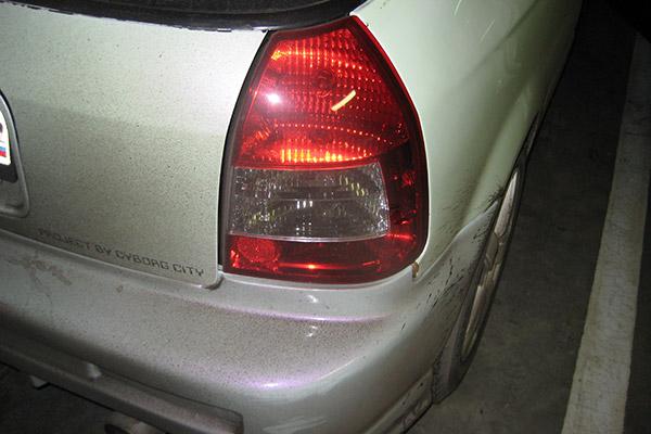 Альтернативная задняя оптика Honda Civic EK3 hatch