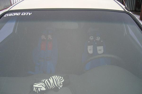 Забавные накладки на ремни безопасности