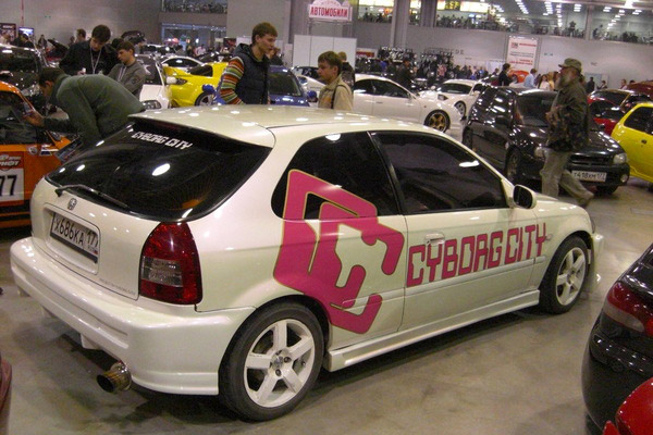Honda Civic EK3 hatch Cyborg City