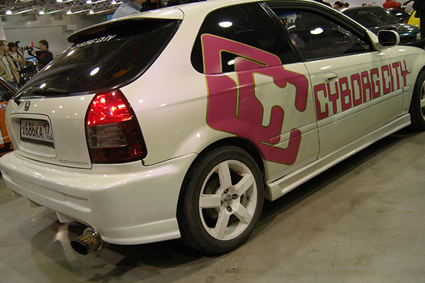 Honda Civic EK3 Cyborg City