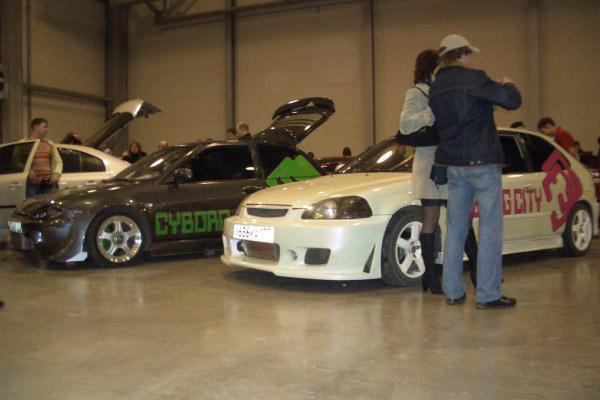 Honda Civic Cyborg City Мотор Парк 2008