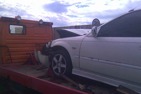 Honda Civic EK3 Crash