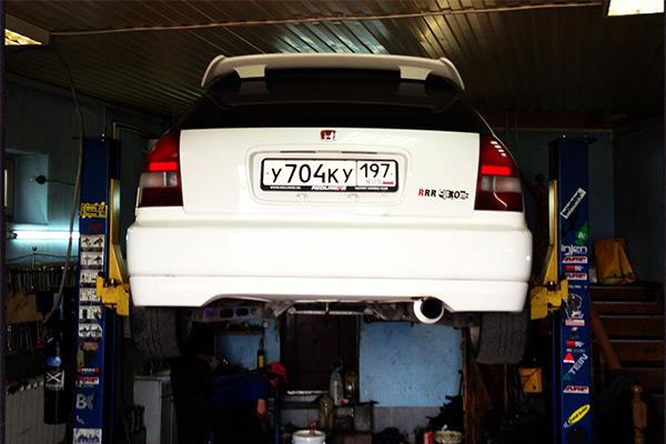 Honda Civic EK9 в RRR Customz