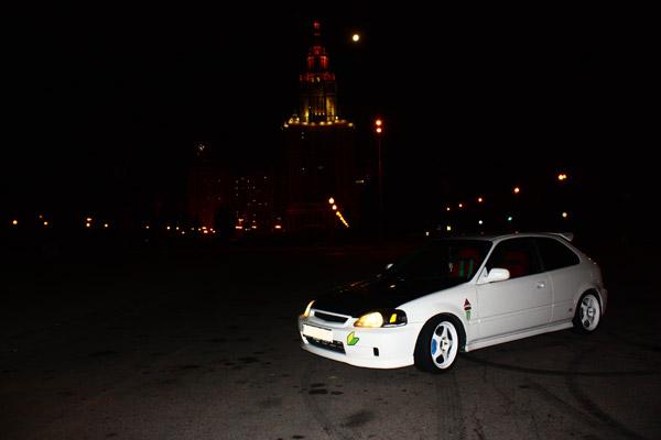 Civic Type R EK9 in Moscow