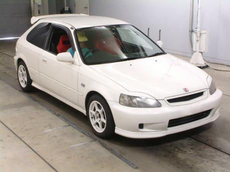 Реснички на фары Honda Civic EK9